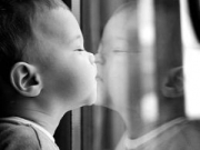 blog photo baby mirror